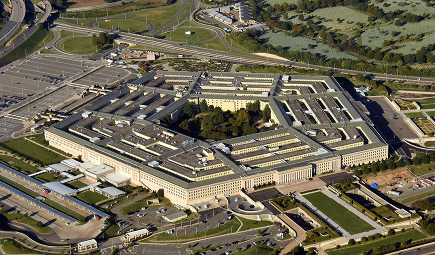 An aerial view of the United States Pentagon building - Absolunet eCommerce Trends